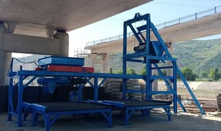 混凝土预制件自动生产线