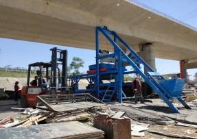 甘肃天水隧道水沟盖板预制构件设备