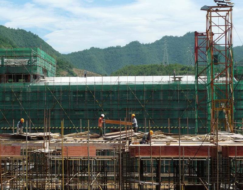 建筑搭建中的预制件应用