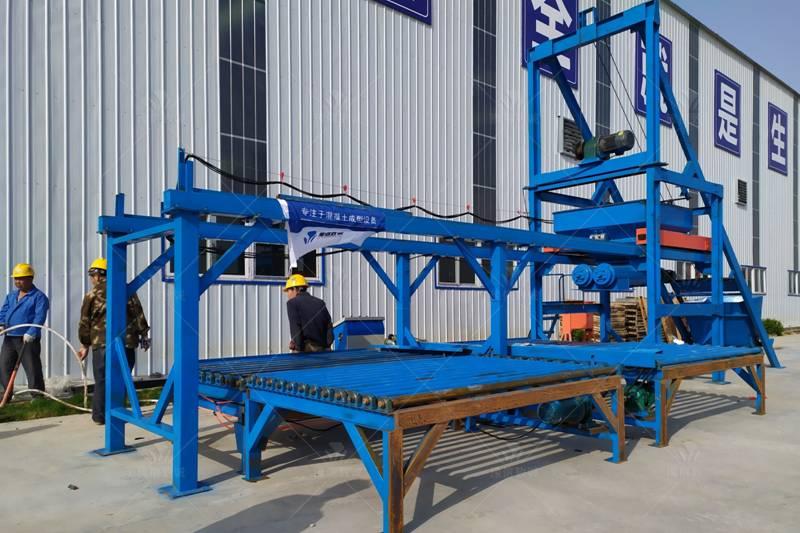 边沟盖板预制件生产线设备