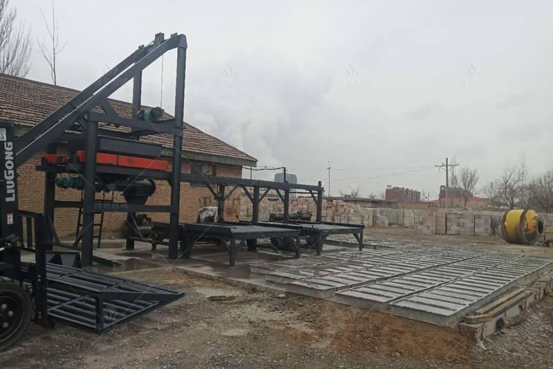 陕西延安水沟盖板预制件生产设备