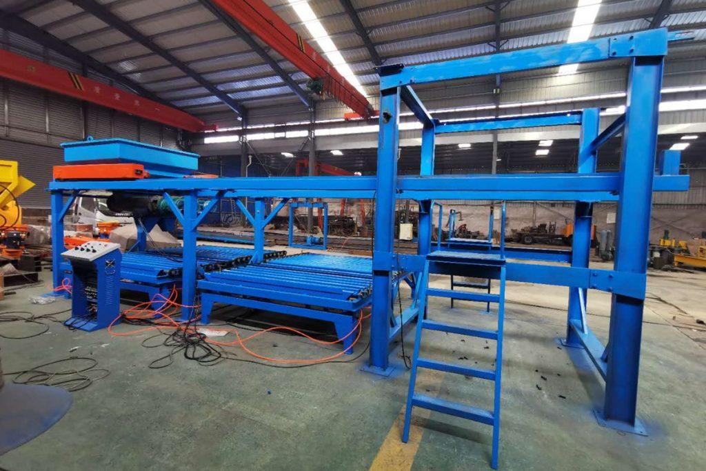 水沟盖板预制件生产设备组装