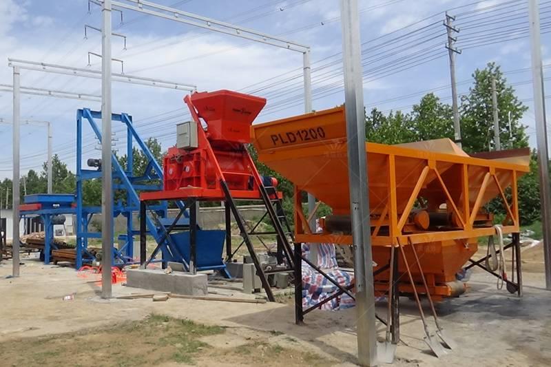 混凝土预制件生产设备周口工地1