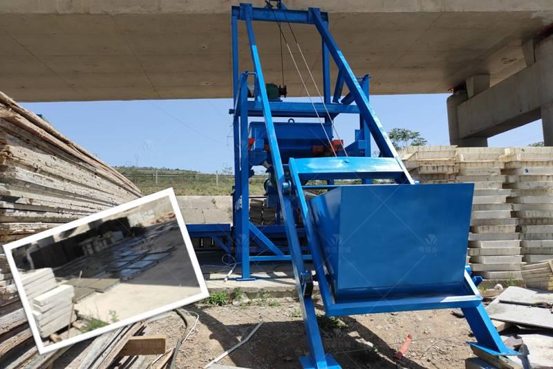 隧道水沟盖板预制构件设备成品